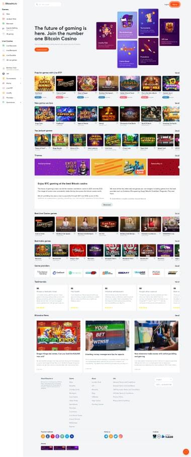 BitCasino Site Preview