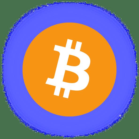 Bitcoin Coin Theme Shadow